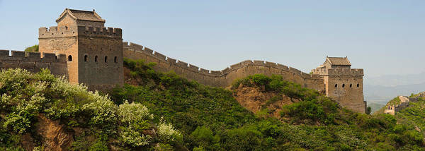 Fortification Photograph - Great Wall Of China, Jinshangling by Panoramic Images