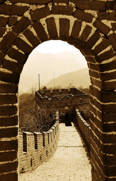 Photograph - Great Wall by Songquan Deng