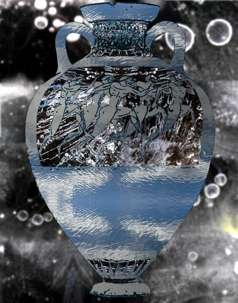 Mlk Digital Art - Grecian Urn by JG Whitney