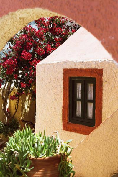 Photograph - Greek House, Santorini by Deimagine