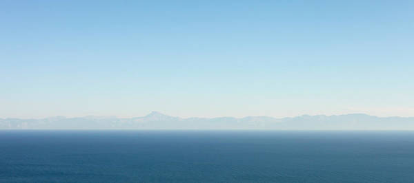Late Afternoon Wall Art - Photograph - Greek Panorama by Tom Gowanlock