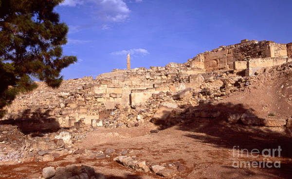 Photograph - Greek Ruins by Paul Cowan