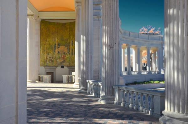 Greek Mixed Media - Greek Theatre 2 by Angelina Tamez
