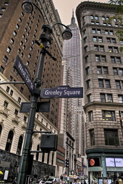 Wall Art - Photograph - Greeley Square by Ryan Crane