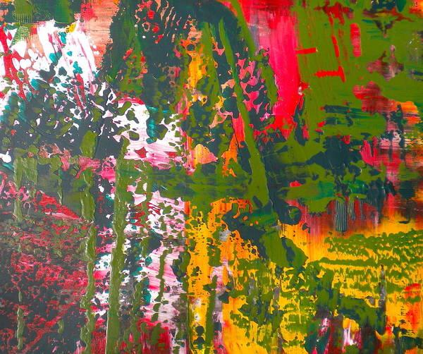 Green Abstract 3 Art Print