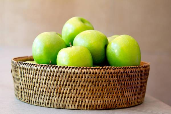 Green Apples. Art Print