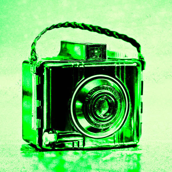 Warhol Photograph - Green Baby Brownie Special by Jon Woodhams