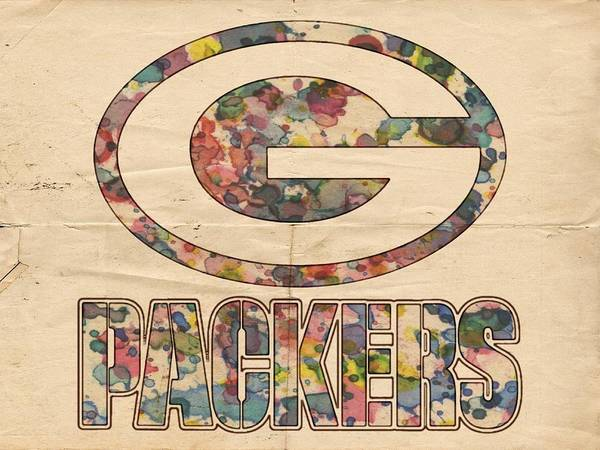 Painting - Green Bay Packers Poster Art by Florian Rodarte