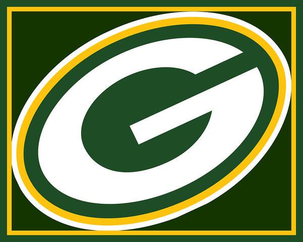 Painting - Green Bay Packers by Tony Rubino