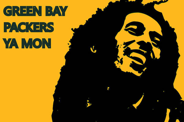 Drum Player Wall Art - Photograph - Green Bay Packers Ya Mon by Joe Hamilton