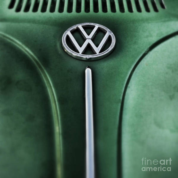 Iphoneography Wall Art - Photograph - Green Bug by Neil Overy
