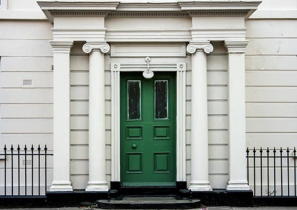Photograph - Green City Door by Georgia Fowler