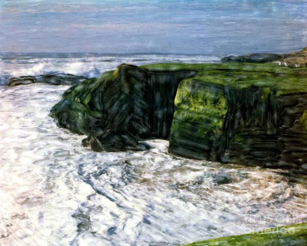 Photograph - Green Cliffs Of Bird Rock by Glenn McNary