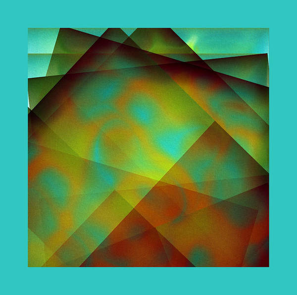 Digital Art - Green Color Package by Mihaela Stancu
