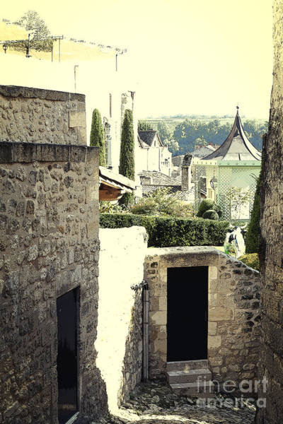 Photograph - Green Courtyards Behind Medieval Walls by Heiko Koehrer-Wagner