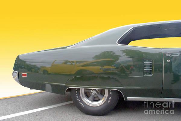 Mixed Media - Green Custom Car by Bill Thomson
