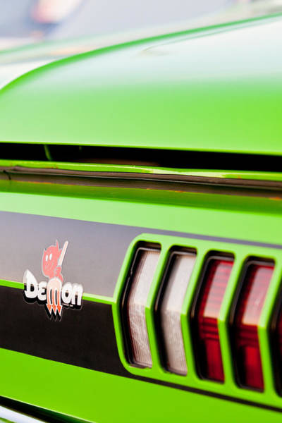 Photograph - Green Demon by Melinda Ledsome
