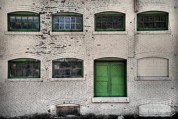 Photograph - Green Door by Alana Ranney