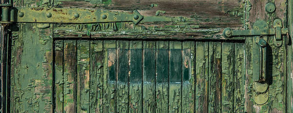 Dilapidation Wall Art - Photograph - Green Door by Paul Freidlund
