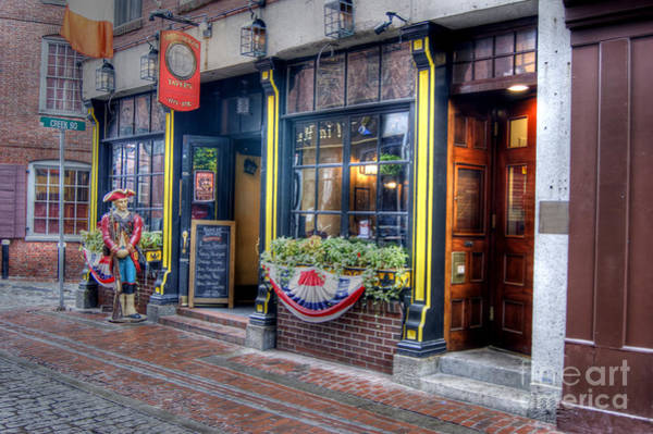 Photograph - Green Dragon Tavern In Boston by David Birchall