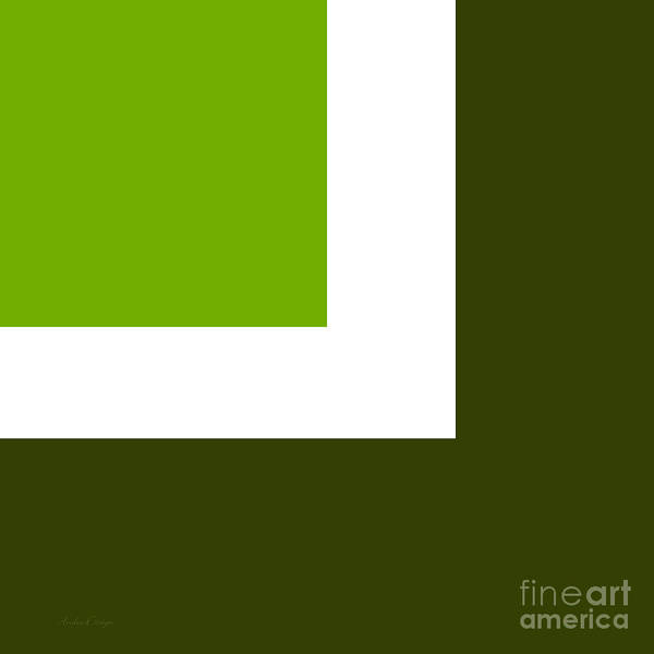 Digital Art - Green Eggs And Ham Square by Andee Design