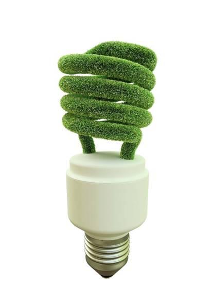 Energy-saving Wall Art - Photograph - Green Energy by Andrzej Wojcicki/science Photo Library