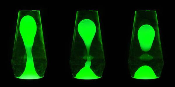 Liquify Photograph - Green Evolution by Semmick Photo
