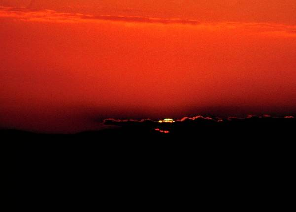 Flash Photograph - Green Flash At Sunset by Robin Scagell/science Photo Library