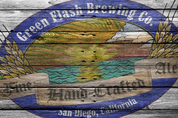 Flash Photograph - Green Flash Brewing by Joe Hamilton