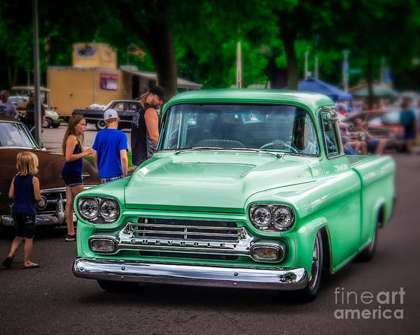 Wall Art - Photograph - Green Glow by Perry Webster
