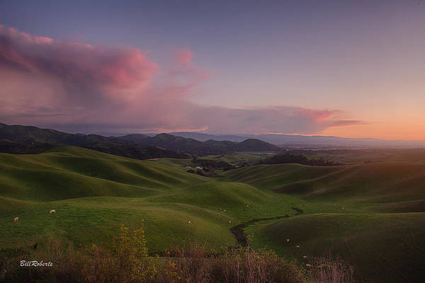 Monterey Photograph - Green Hills Of Monterey County by Bill Roberts