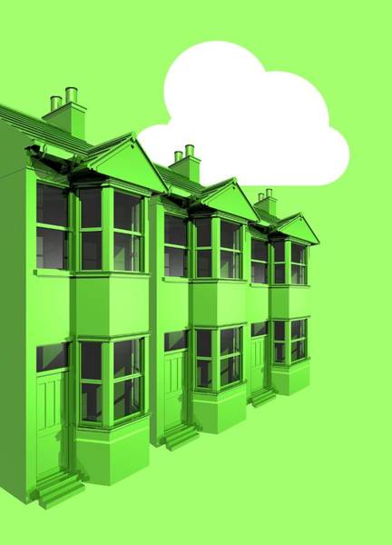 Wall Art - Photograph - Green Housing by Victor Habbick Visions/science Photo Library
