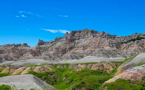 Photograph - Green In The Badlands by John M Bailey