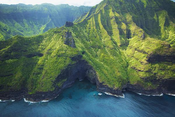 Wall Art - Photograph - Green Kauai Cavern by Kicka Witte