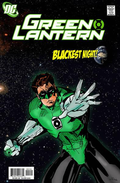 Comic Book Photograph - Green Lantern by Mark Rogan