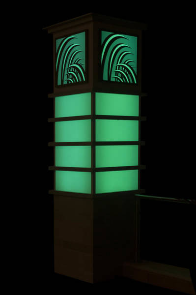 Digital Art - Green Light by Photographic Art by Russel Ray Photos