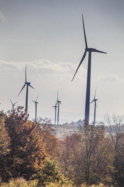 Somerset County Photograph - Green Mountain Wind Farm by Richard Nowitz