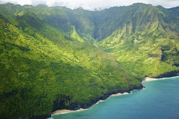 Wall Art - Photograph - Green Na Pali Coast by Kicka Witte