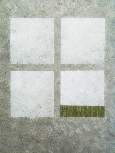 Green Painting 1 Art Print