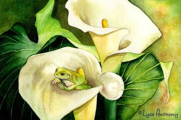 Wall Art - Painting - Green Peace by Lyse Anthony