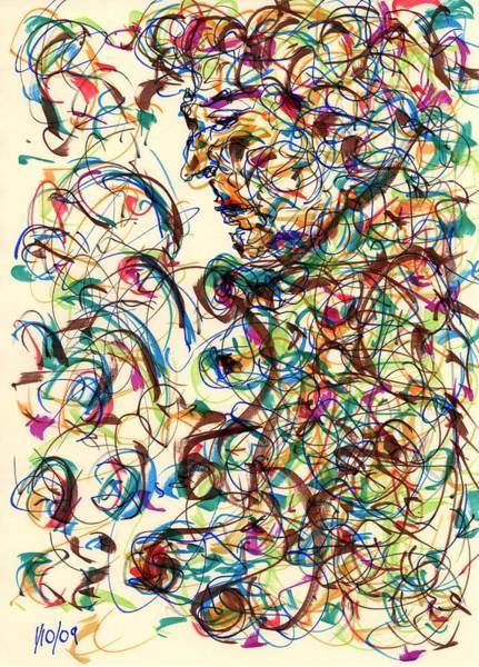 Drawing - Green by Rachel Scott