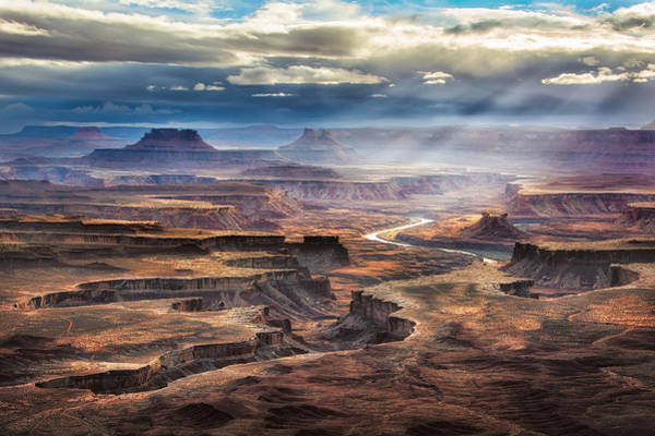 Photograph - Green River Overlook by Michael Ash