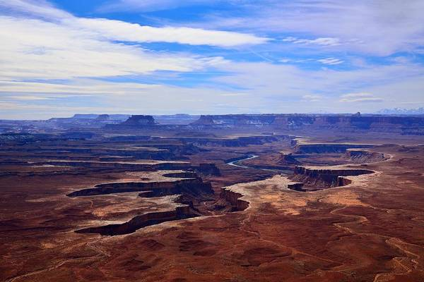 Photograph - Green River Overlook by Walt Sterneman