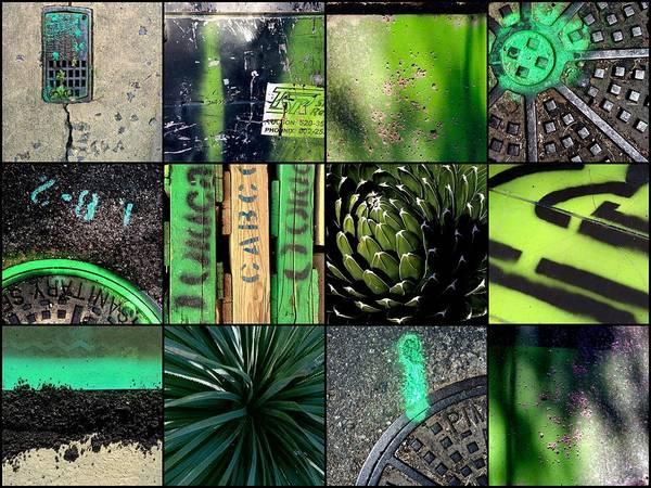 Photograph - Green Seen by Marlene Burns