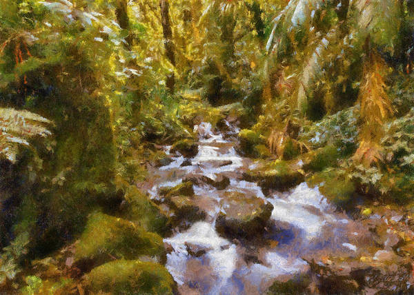 Photograph - Green Stream by Charmaine Zoe