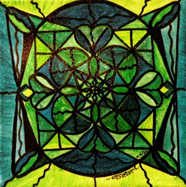 Allopathy Wall Art - Painting - Green by Teal Eye Print Store