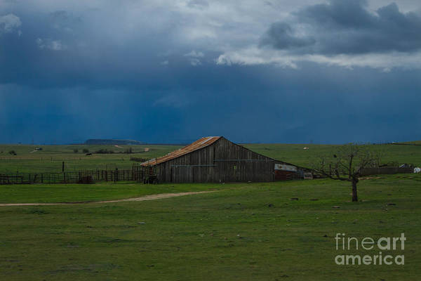 Interstate 5 Wall Art - Photograph - Green Valley Rain by Mitch Shindelbower