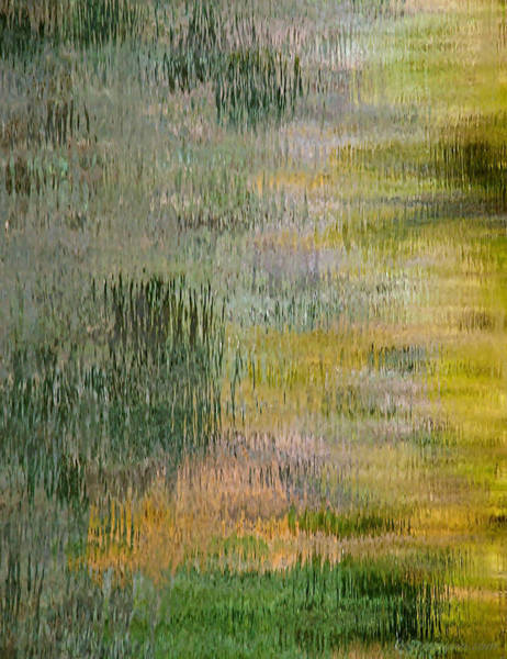 Photograph - Green Water Abstract by Britt Runyon