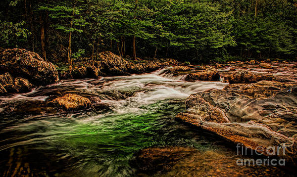 Photograph - Green Water  by Dave Bosse