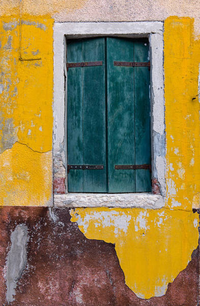 Photograph - Green Window by Michael Blanchette